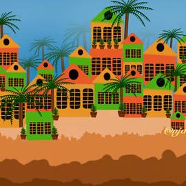 Geometric Landscape by Anjali Swami