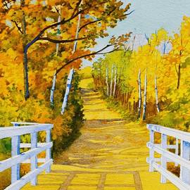Follow The Yellow Dirt Road by Teresa Trotter