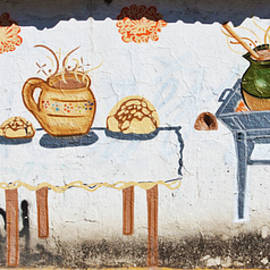 Food Mural Art in Mexico by Tatiana Travelways