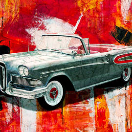 Ford Edsel by Ally White