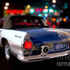 Ford Thunderbird 1955 by Thomas Burtney