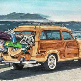 Ford Woody by Melanie Rissler
