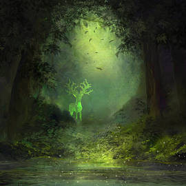 Forest Spirit by Igor Dunaev
