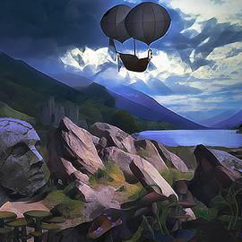 Forgotten Lands by Phil Sampson