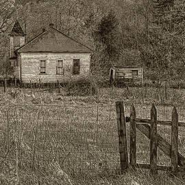 Forgotten Schoolhouse by Jurgen Lorenzen