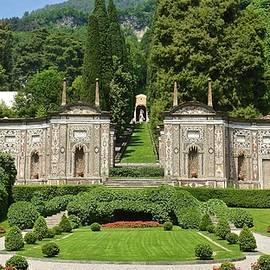 Formal gardens of Villa d'Este, Cernobbio, Lombardy, Italy by Joe Vella
