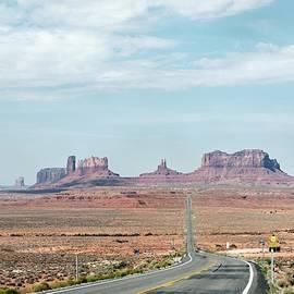 Forrest Gump Highway by Gordon Beck