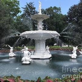 Forsyth Fountain Frolic by Barbie Corbett-Newmin