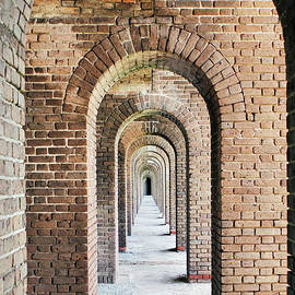 Fort Jefferson Arches by Tina Uihlein
