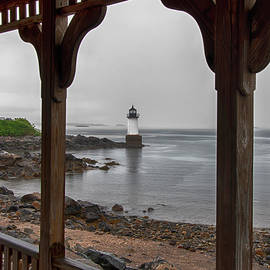 Fort Pickering Light - Winter Island Light - Salem MA by Joann Vitali