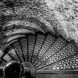 Fort Point Light Staircase by Dave Cleaveland