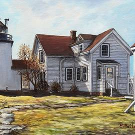 Fort Point Light, Stockton Springs, Maine by Eileen Patten Oliver
