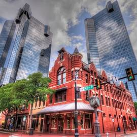 Fort Worth Cityscape by Randy Dyer