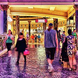 Forum Shops Caesars Palace Las Vegas Street by Tatiana Travelways