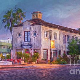 Fountain Kitchen and Wine Bar, Sarasota, FL, Painterly by Liesl Walsh