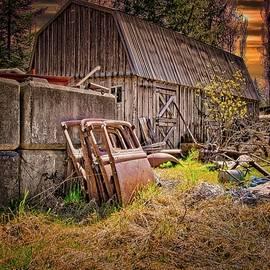 Four Doors And A Barn by Chuck Burdick