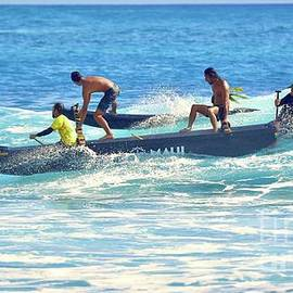 Four Man Outrigger Canoe by Craig Wood