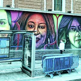 Four Women Mural - Madrid by Allen Beatty
