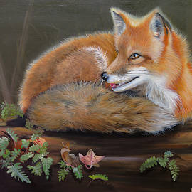 Fox And Fern by Phyllis Beiser