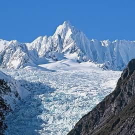 Fox Glacier - New Zealand Alps  by Steven Ralser