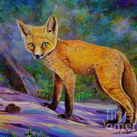 Foxy Baby by AnnaJo Vahle