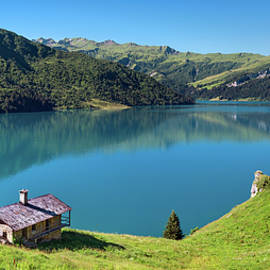 France - Roselend lake in Savoie by Olivier Parent