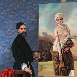 Francesco Hayez Painting by Paul Meijering