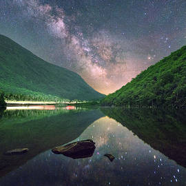 Franconia Notch, White Mountains National Forest, New Hampshire by Jatin Thakkar