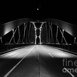 Frankfurt Abstract Bridge by Norma Brandsberg