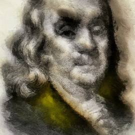 Franklin Father of Freedom by Mario Carini