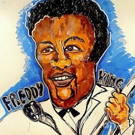 Freddie King by Geraldine Myszenski