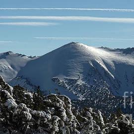 Freel Peak, Eldorado and Humboldt-Toiyabe National Forest, U. S. A. seen from 10,000 feet elevation by PROMedias