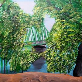 Freeport Bridge by Irving Starr