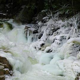Freezing River by Lyuba Filatova