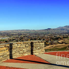 Freezout Hill Memorial View by Robert Bales