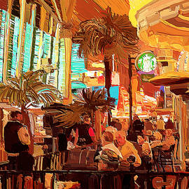 Fremont Street Experience Cafe by Tatiana Travelways