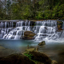 French Broad Falls at Living Waters by Shelia Hunt