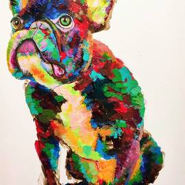 French Bull by Fred Ci