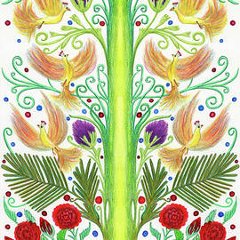 French Inspired Design with Six Firebirds by Lise Winne
