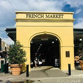 French market in color