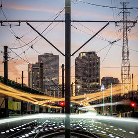 French Market Streetcar Lights by Chase This Light Photography