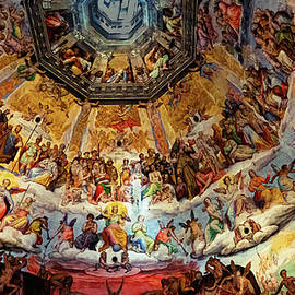 Fresco in the Florence Duomo by Andrew Cottrill