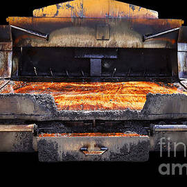 Fresh Baked Asphalt Pizza  by Steven Digman