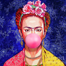 Frida Bubble Gum by POP ART Artstudione