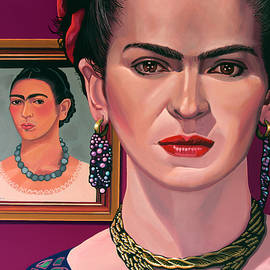 Frida Kahlo Painting by Paul Meijering