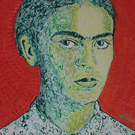 Frida Kahlo by Sol Luckman
