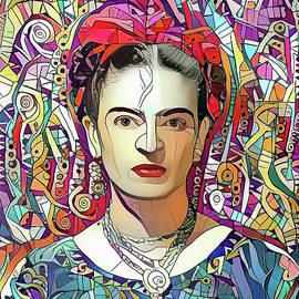 Frida Khalo 1b by Stefano Menicagli