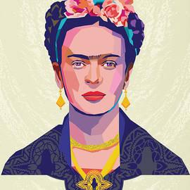Frida Vectors by Pop Art World
