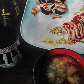 Friday Night Sushi by Ashley Koebrick Schmidt