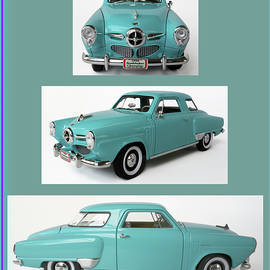 Front and Side Views, Studebaker Champion, South Bend, IN, USA by Derrick Neill